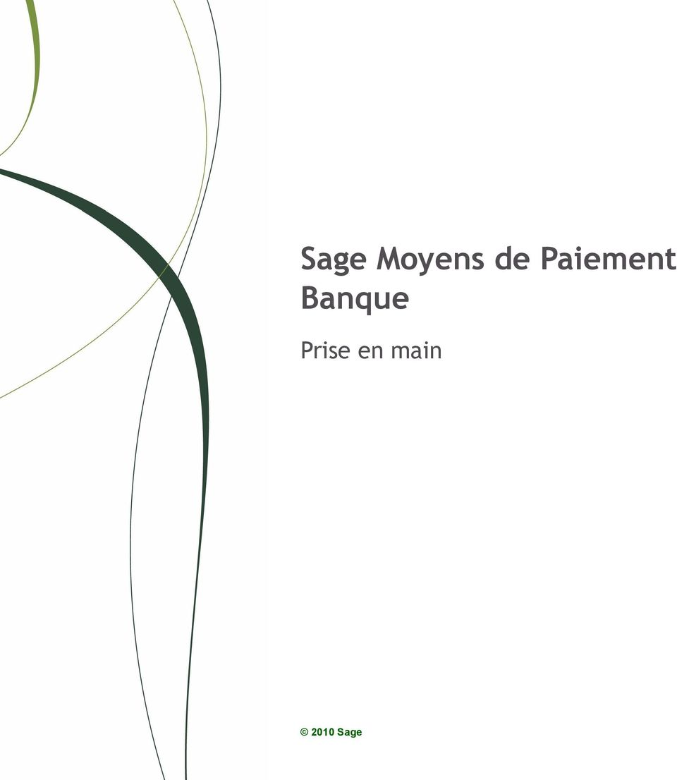 sage moyens de paiement banque pdf. Black Bedroom Furniture Sets. Home Design Ideas