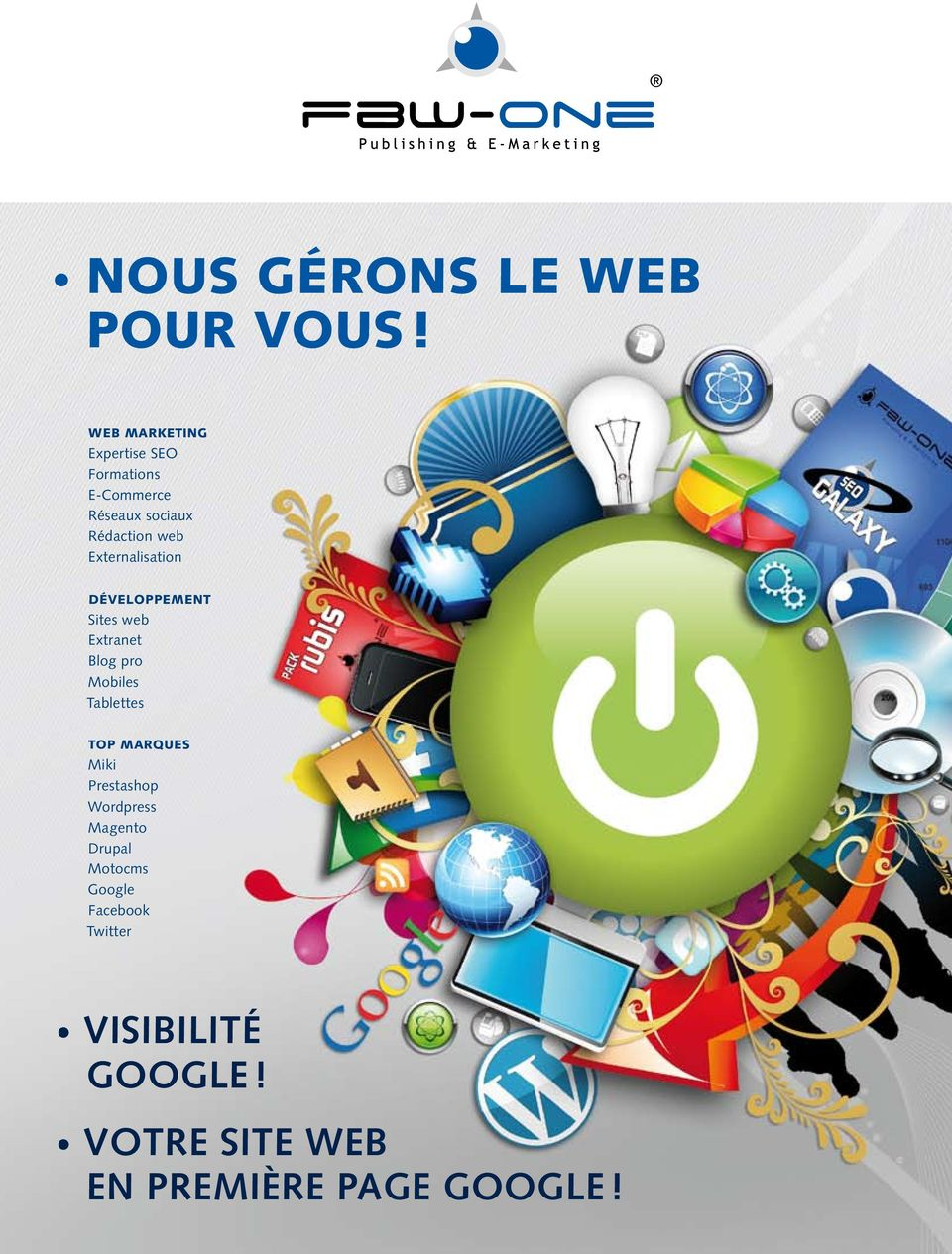 Externalisation DéVELOPPEMENT Sites web Extranet Blog pro Mobiles Tablettes TOP