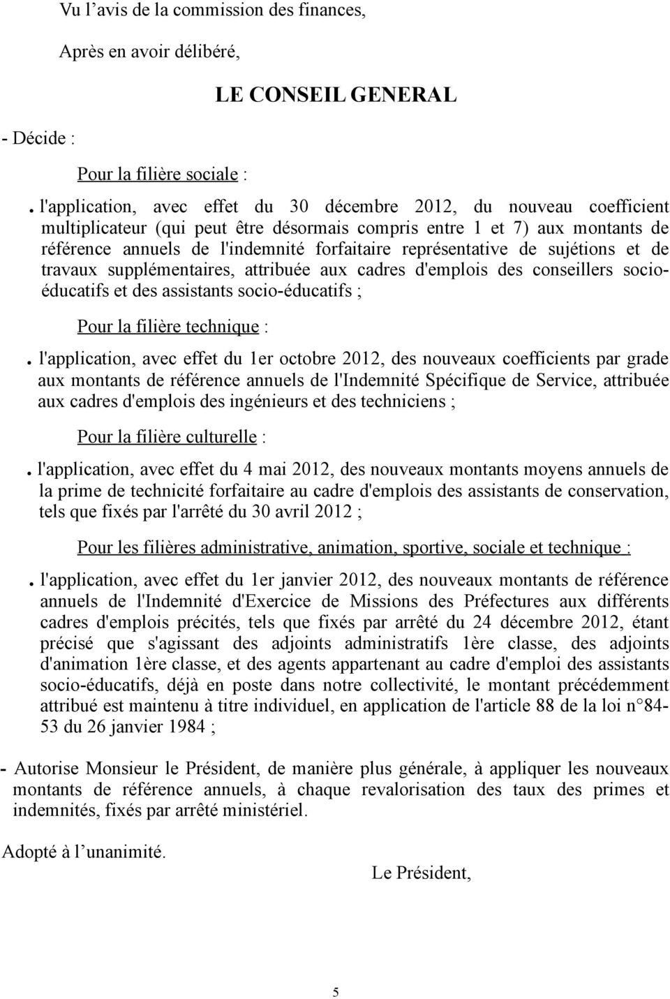 personnel departemental regime indemnitaire pdf