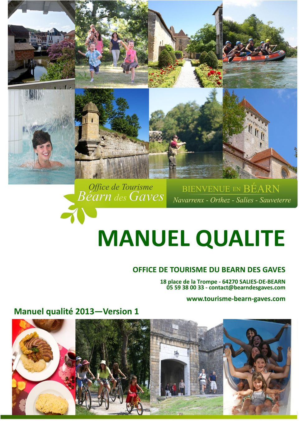 Manuel qualite manuel qualit 2013 version 1 office de - Office du tourisme de nantes telephone ...
