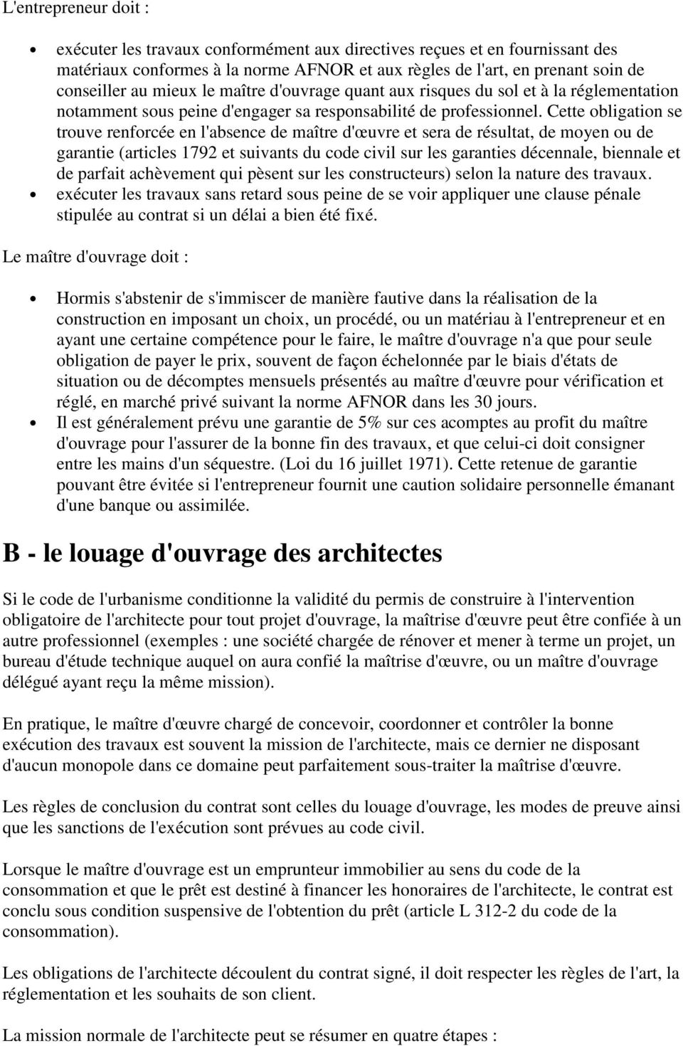 contrat louage d 39 ouvrage definition