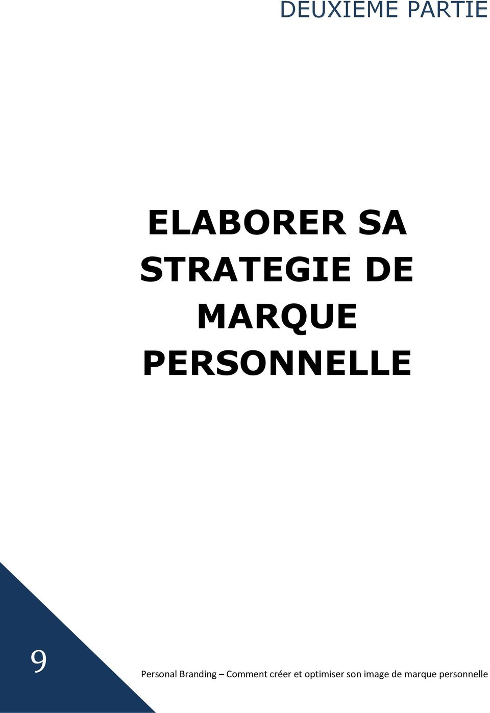 STRATEGIE DE