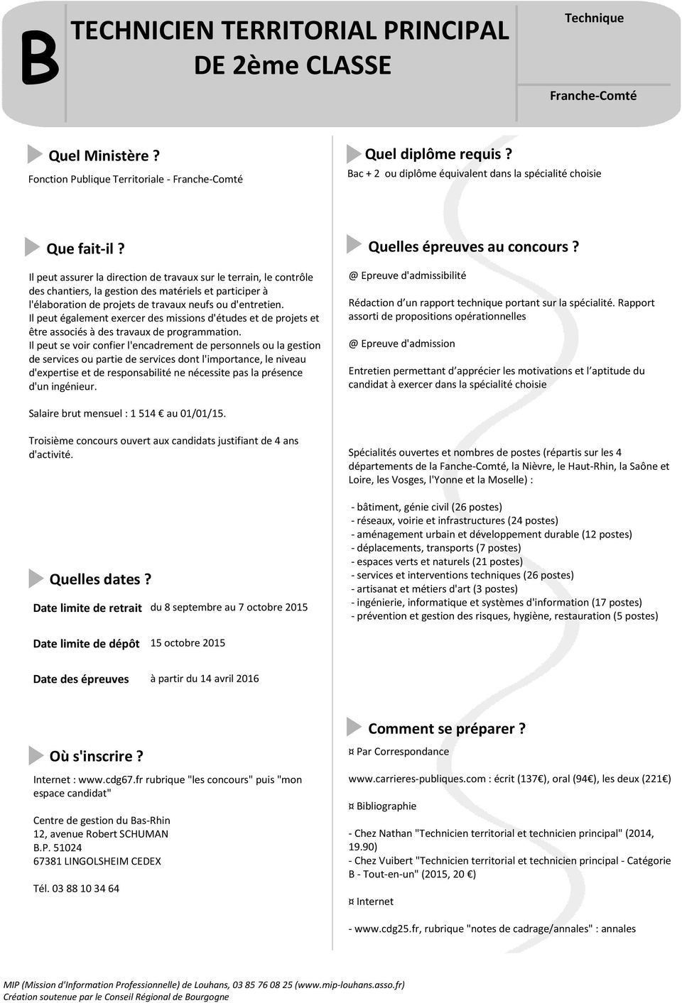Adjoint technique de 1 re classe pdf - Grille indiciaire technicien principal 2eme classe ...