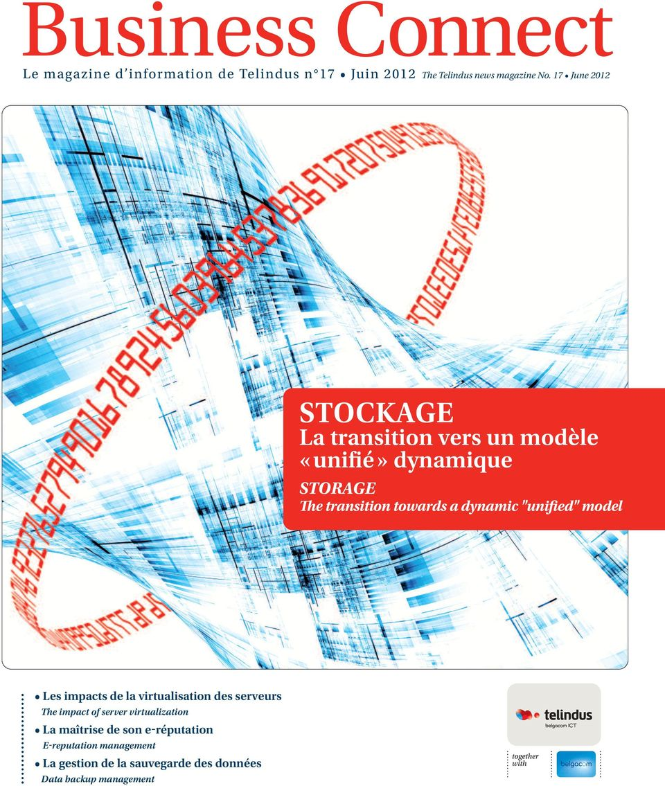 "dynamic ""unified"" model Les impacts de la virtualisation des serveurs The impact of server virtualization"