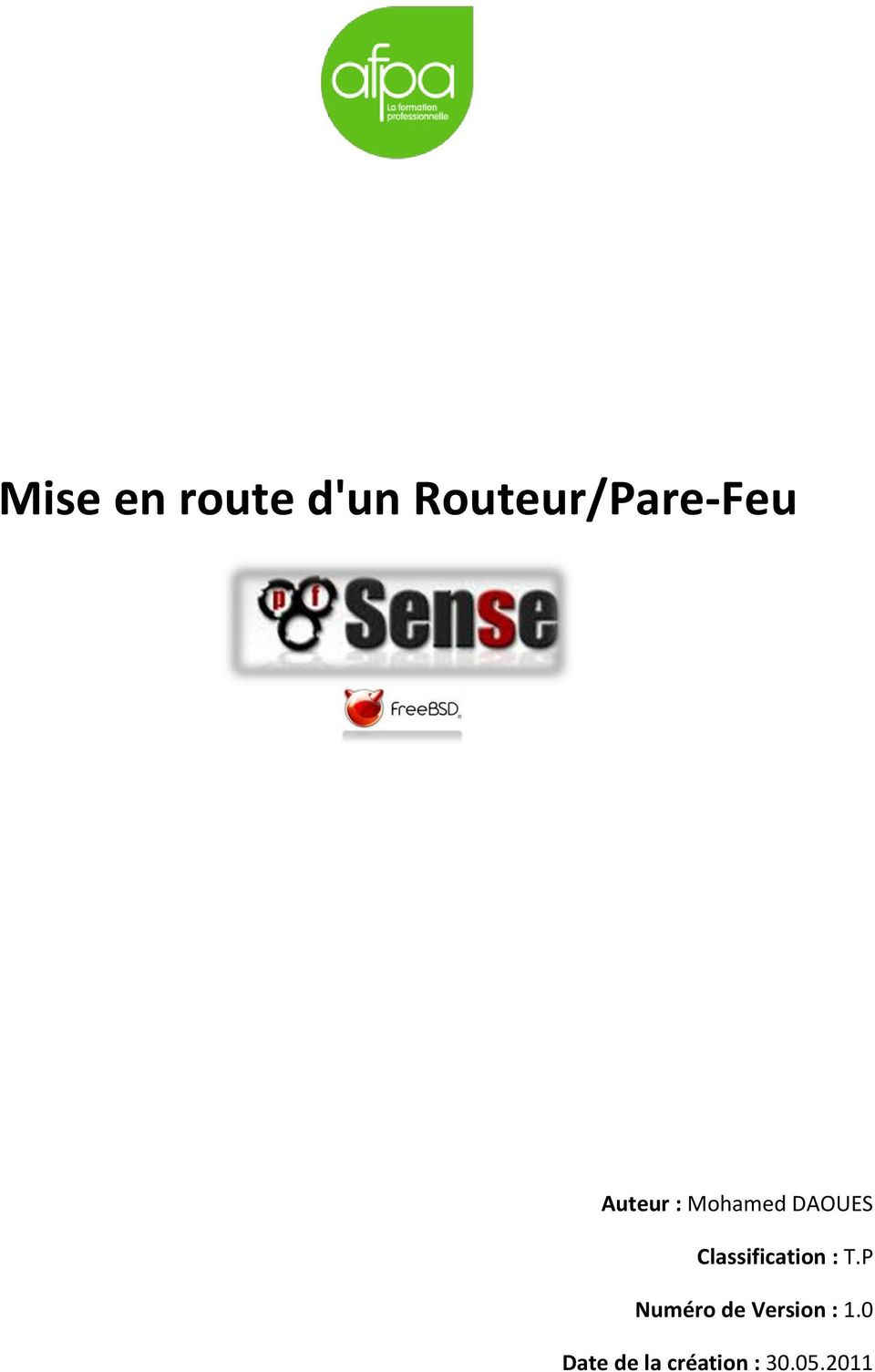 DAOUES Classification : T.