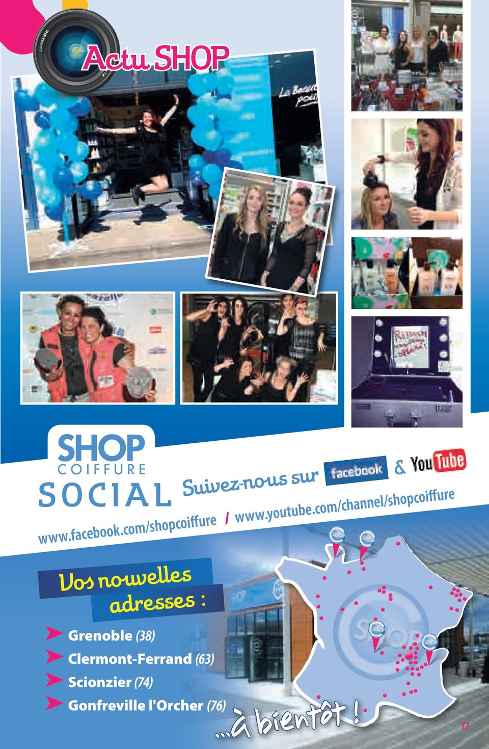 com/channel/shopcoiffure Vo s no uvelles adresses :