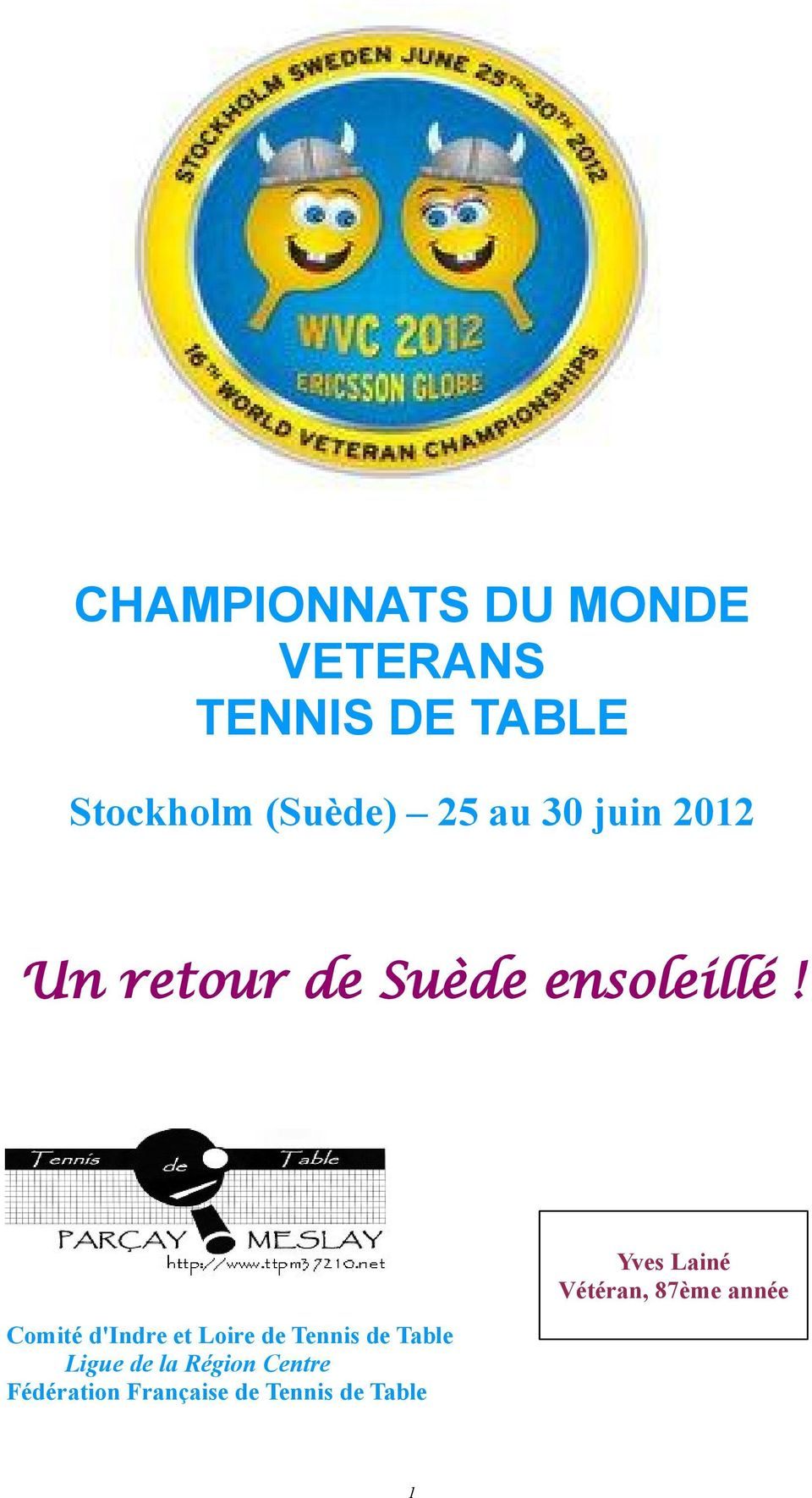 Championnats du monde veterans tennis de table pdf - Tennis de table championnat du monde ...