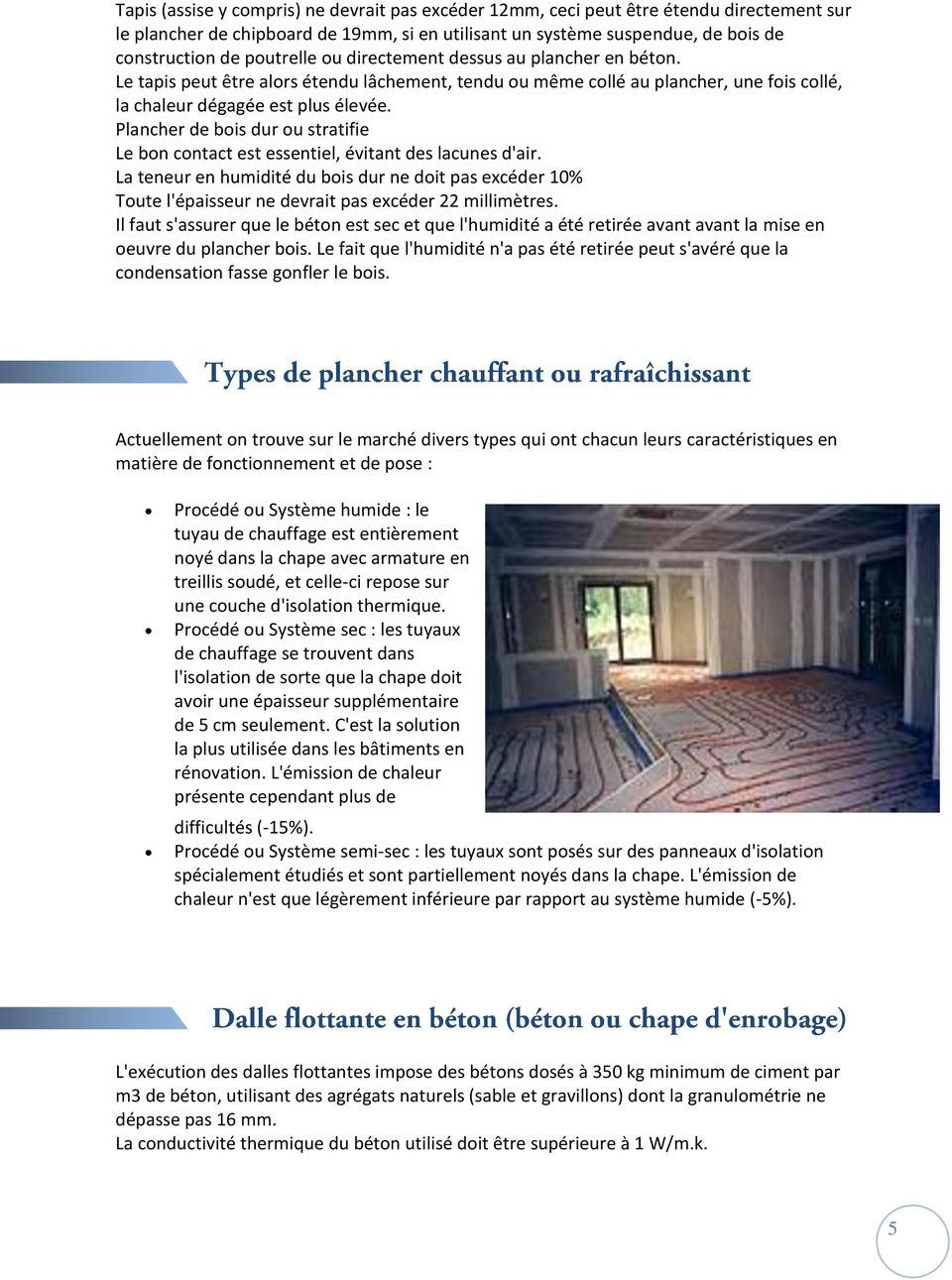 guide le plancher chauffant rafraichissant pdf. Black Bedroom Furniture Sets. Home Design Ideas