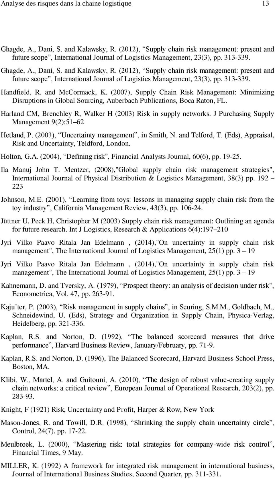supply chain management journal articles pdf