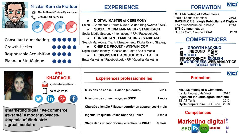 CONSULTANT EMARKETING - VARIBASE Search Marketing / Traffic Management / Digital Brand Strategy CHEF DE PROJET - WIN-WIN.
