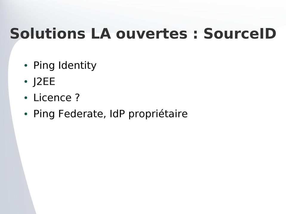 Identity J2EE Licence?