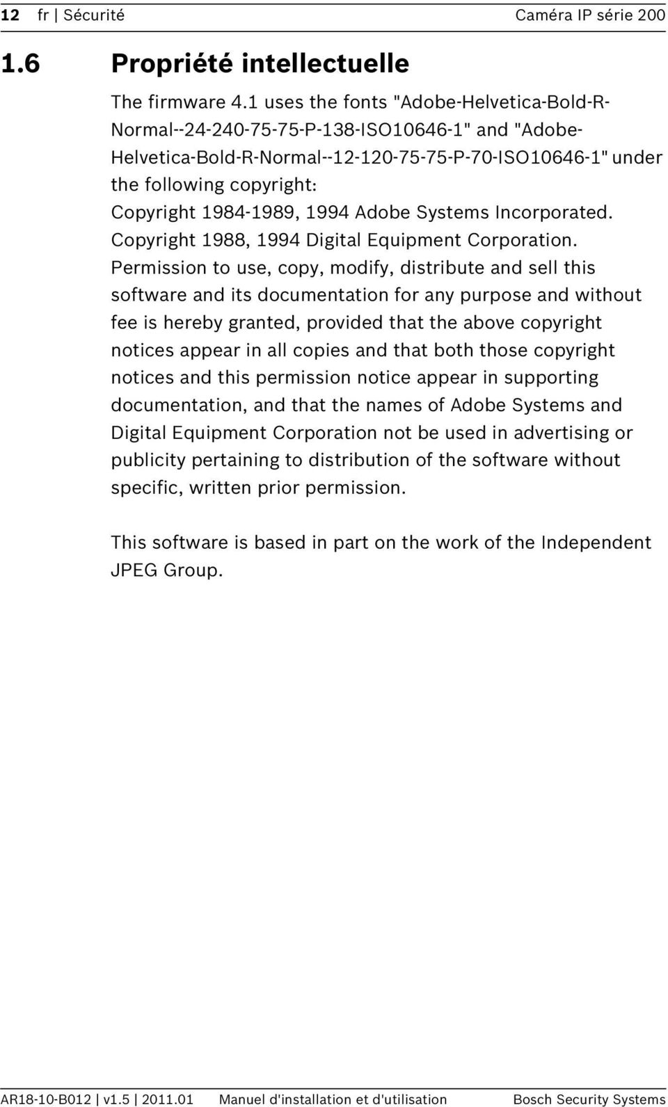 1994 Adobe Systems Incorporated. Copyright 1988, 1994 Digital Equipment Corporation.