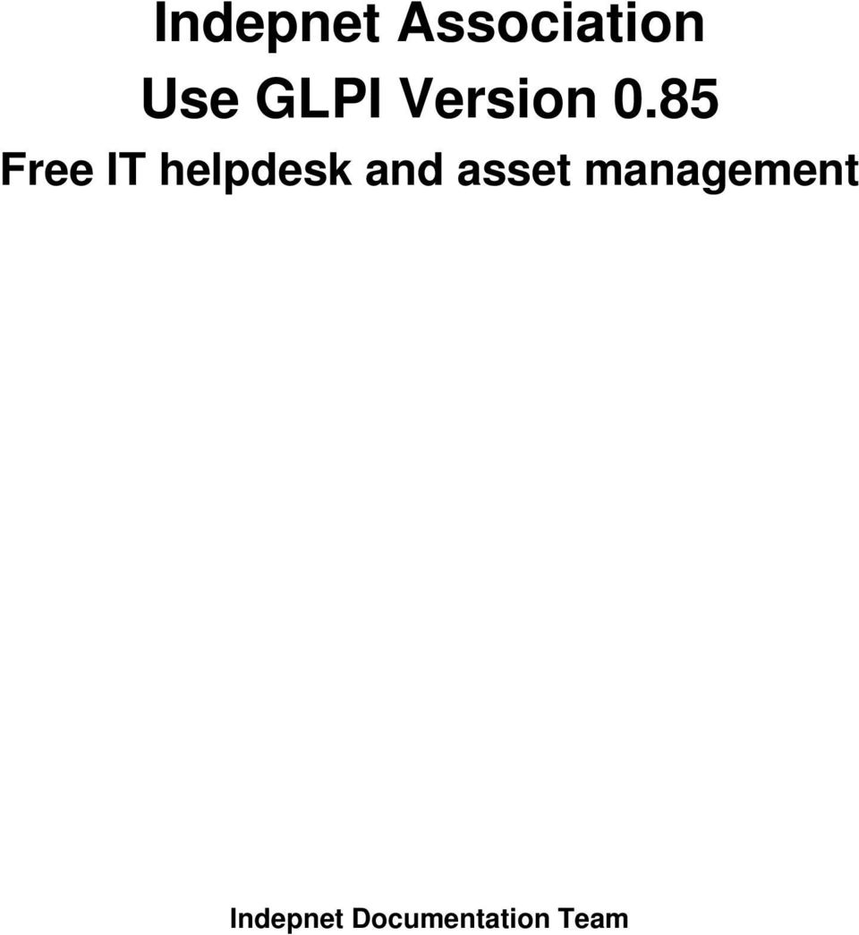 85 Free IT helpdesk and