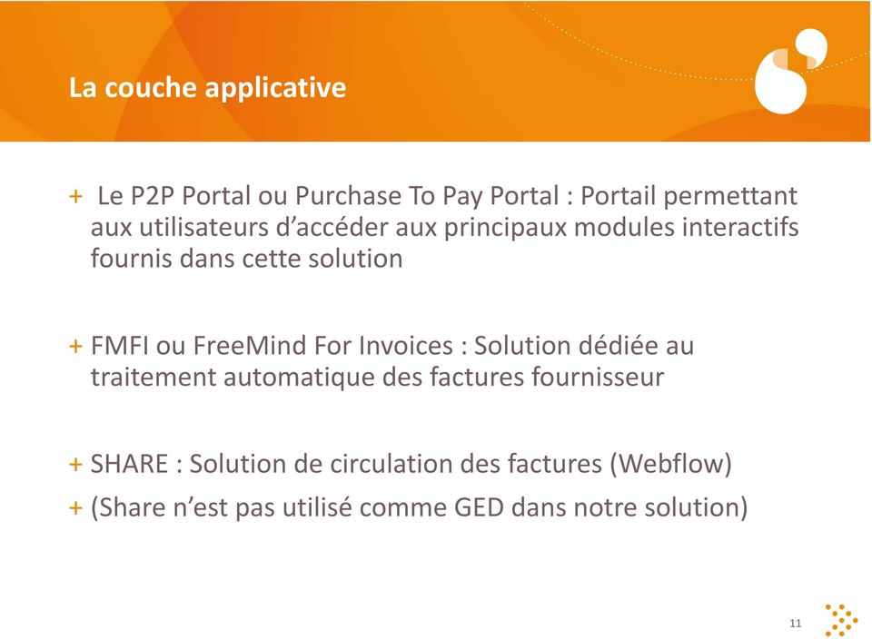 FreeMind For Invoices : Solution dédiée au traitement automatique des factures fournisseur + SHARE