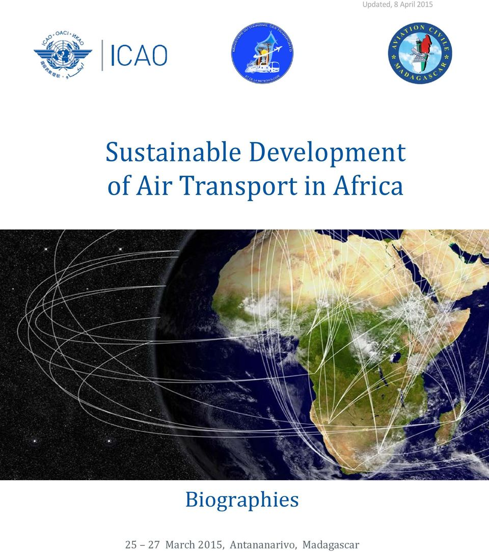 Transport in Africa Biographies