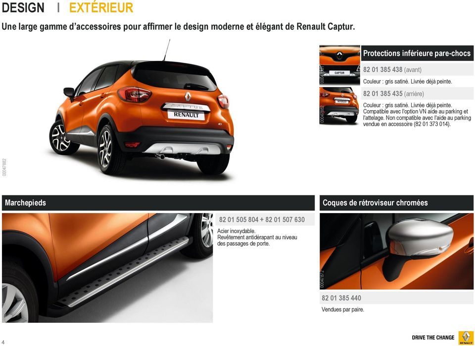 renault captur gamme accessoires pdf. Black Bedroom Furniture Sets. Home Design Ideas