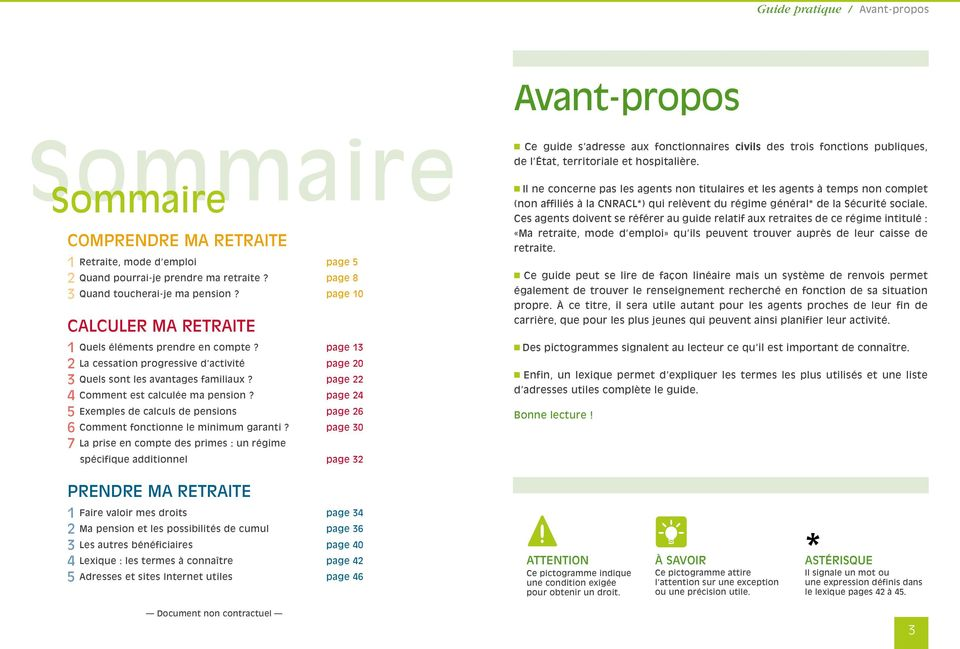 page 24 5 Exemples de calculs de pensions page 26 6 Comment fonctionne le minimum garanti?