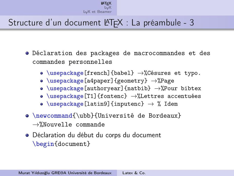 \usepackage[a4paper]{geometry} %Page \usepackage[authoryear]{natbib} %Pour bibtex \usepackage[t1]{fontenc}