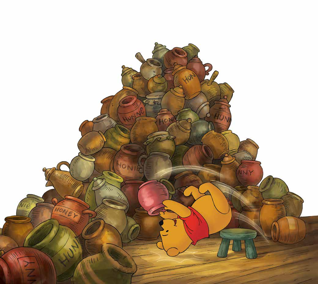 Winnie l Ourson trouve finalement un pot qu il