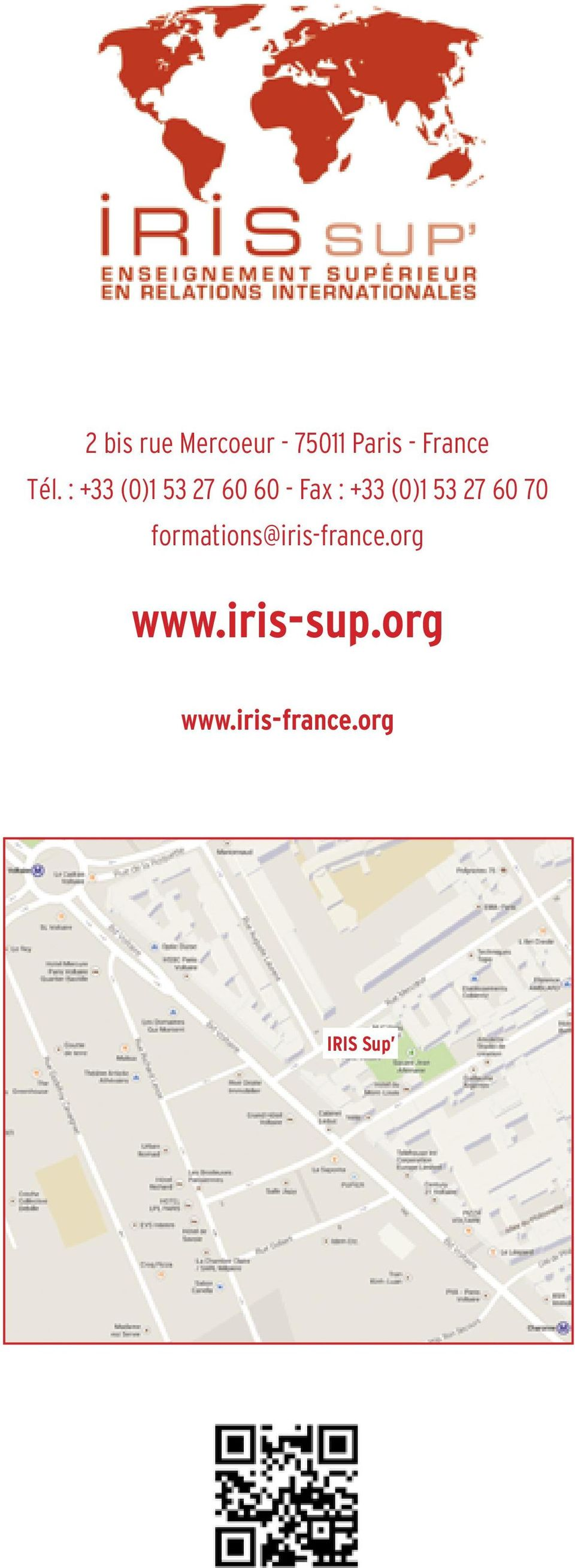 (0)1 53 27 60 70 formations@iris-france.