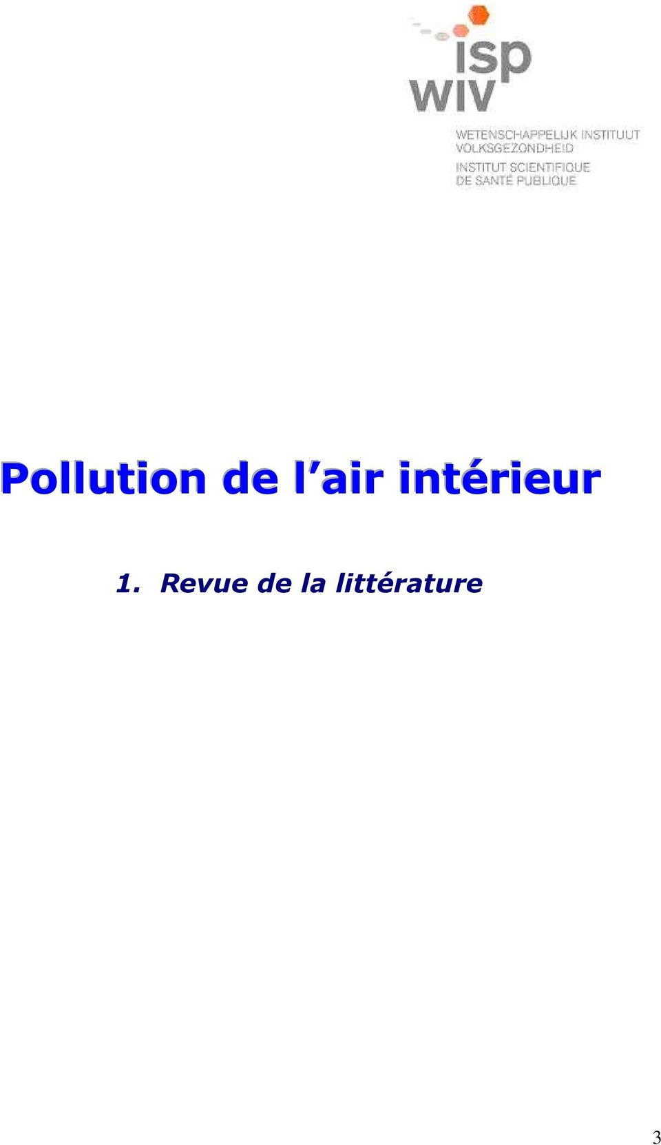 Pollution de l air int rieur pdf - Analyse de l air interieur ...