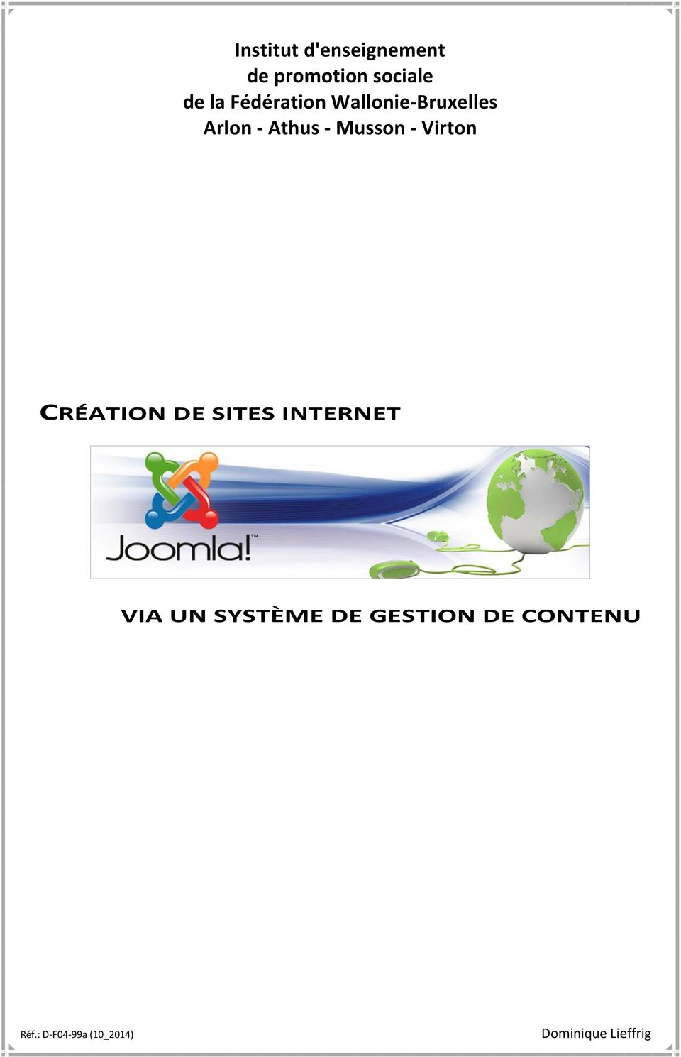 Musson - Virton CRÉATION DE SITES INTERNET VIA