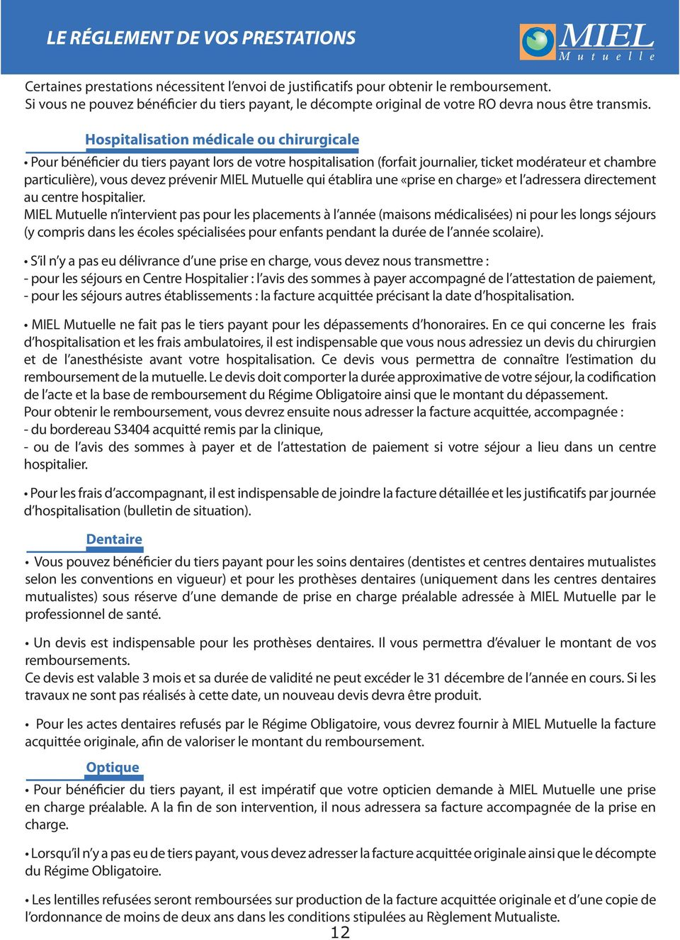 d hospitalisation (bulletin de situation).