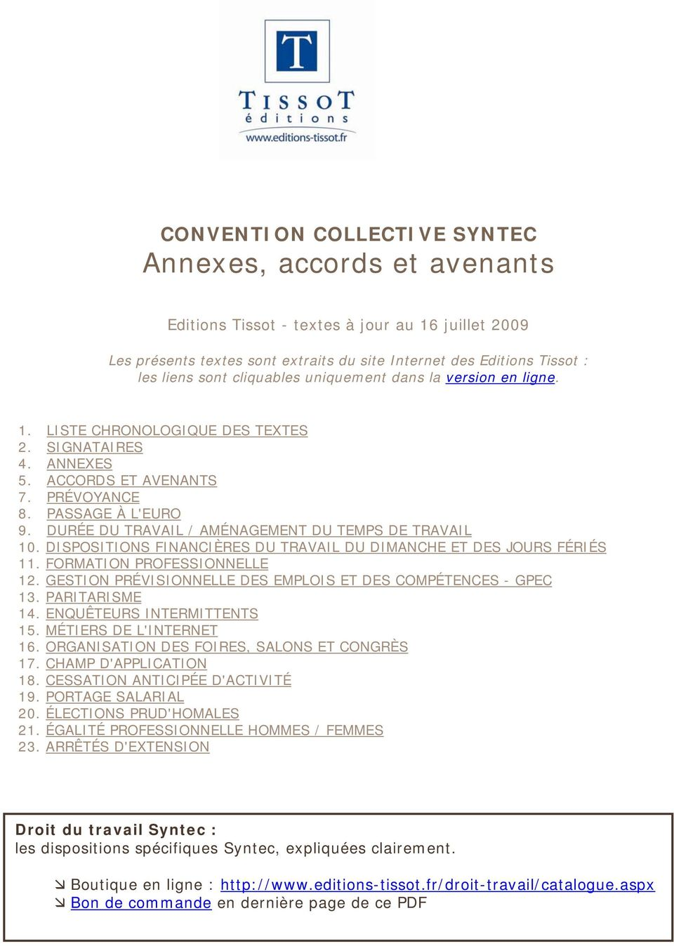 convention collective syntec annexes accords et avenants pdf. Black Bedroom Furniture Sets. Home Design Ideas