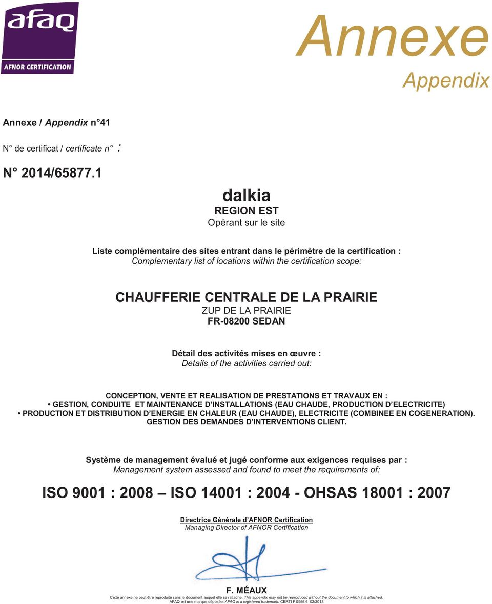 (EAU CHAUDE, PRODUCTION D ELECTRICITE) PRODUCTION ET DISTRIBUTION D