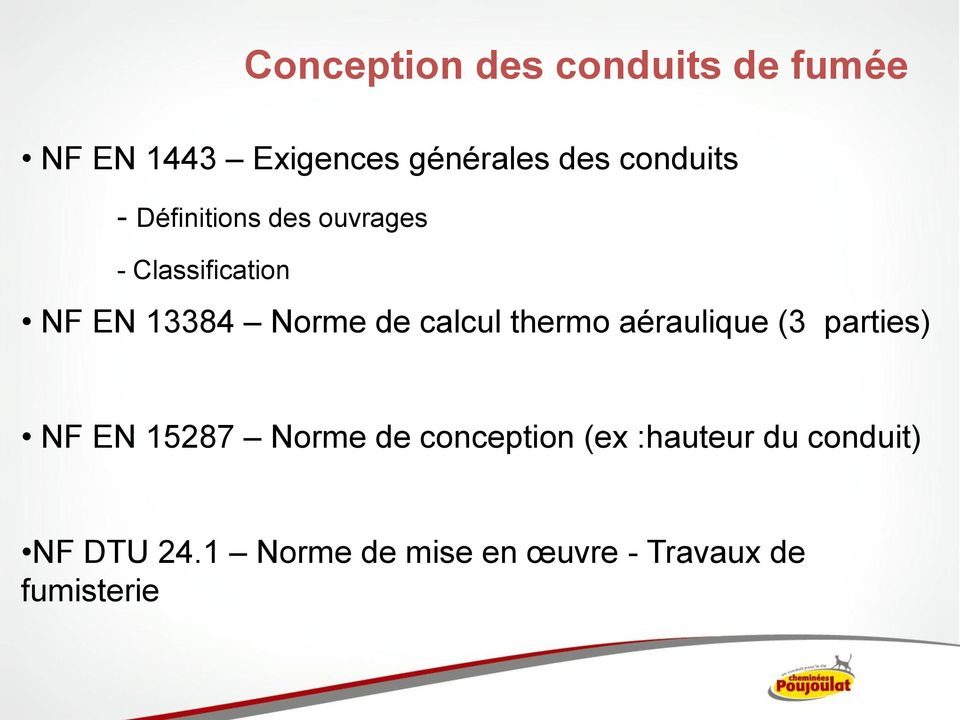 calcul thermo aéraulique (3 parties) NF EN 15287 Norme de conception (ex