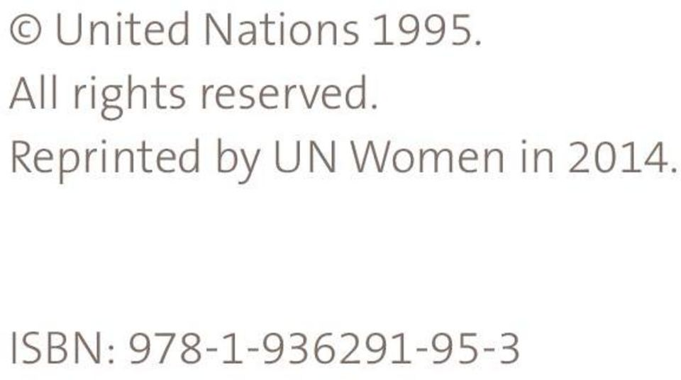Reprinted by UN Women