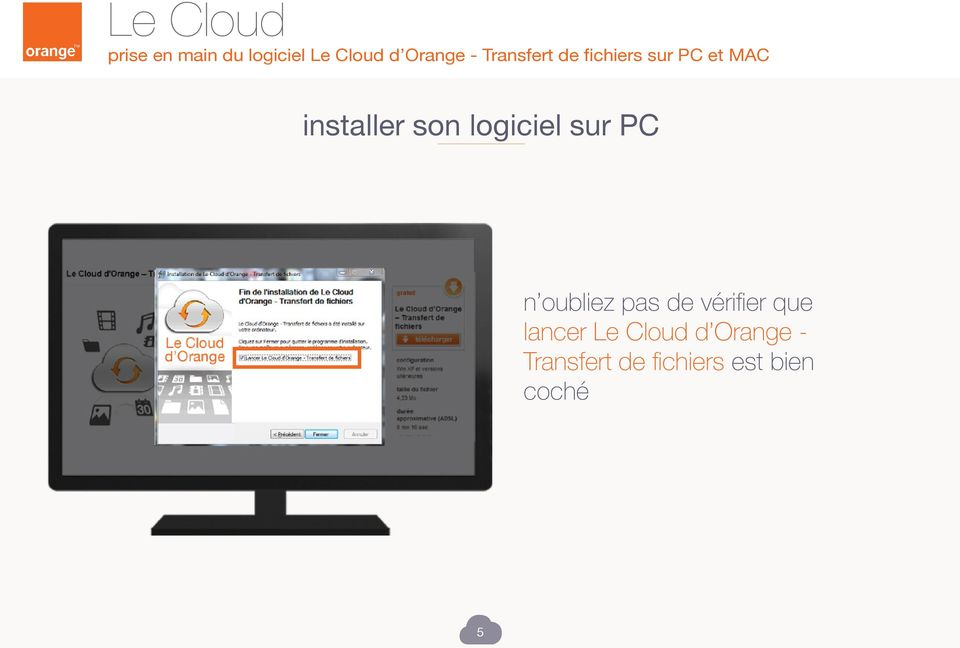 lancer Le Cloud d Orange -