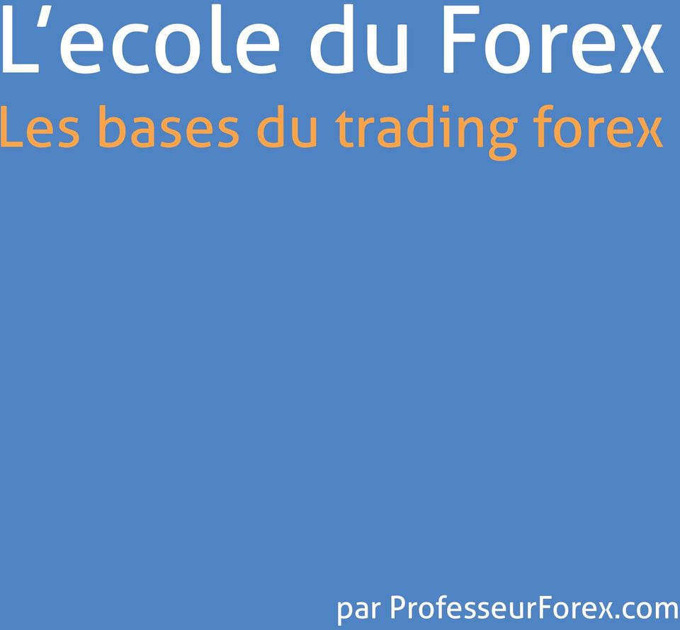 trading forex 1