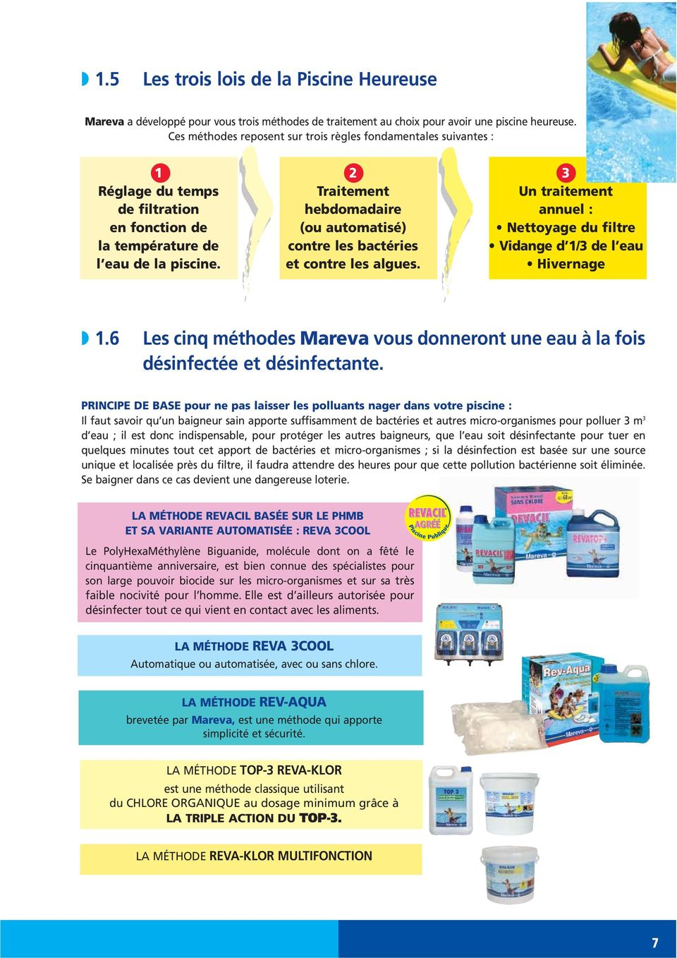 Algicides traitements choc equilibre de l eau douceur for Chlore piscine composition