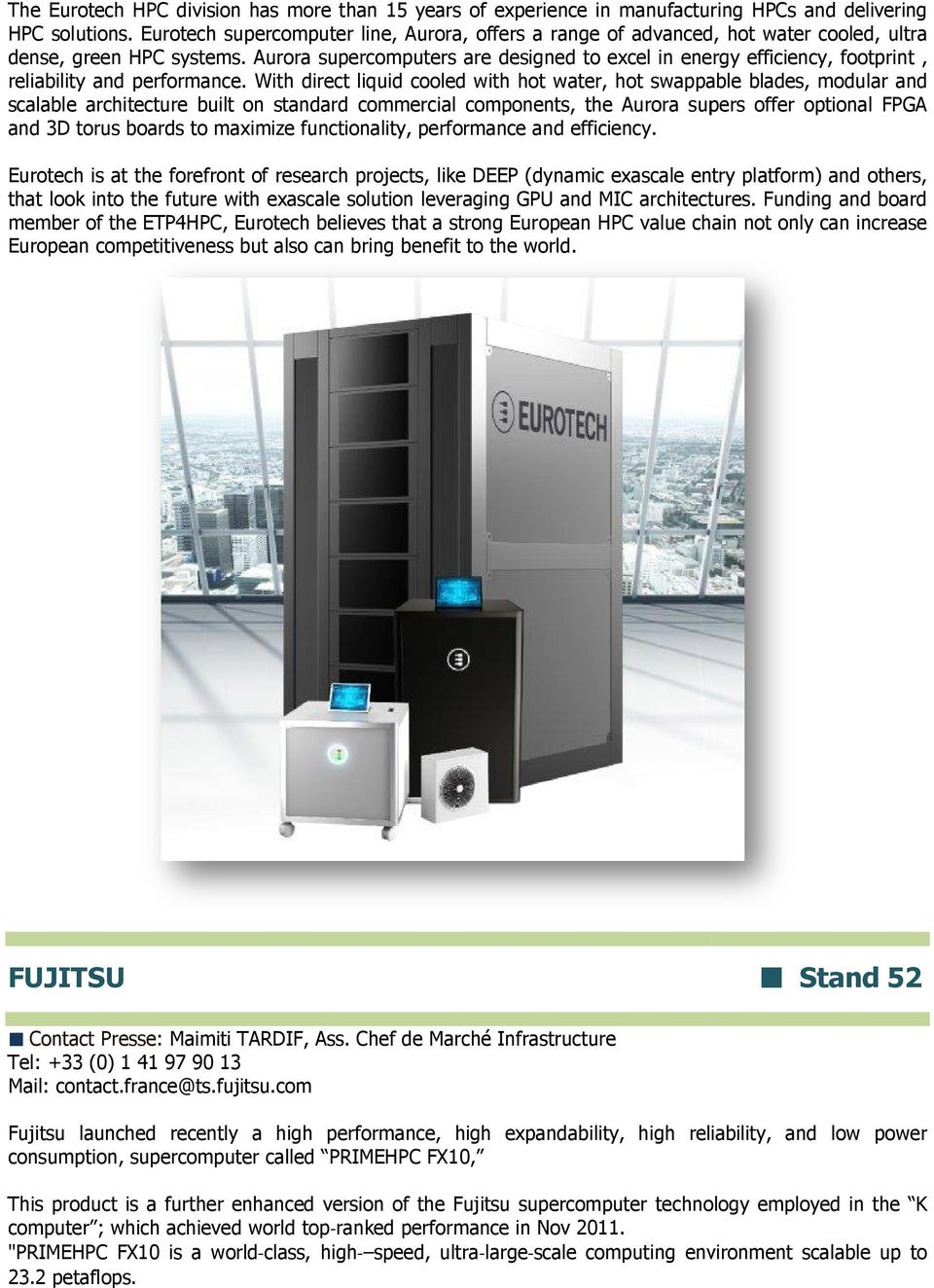 Aurora supercomputers are designed to excel in energy efficiency, footprint, reliability and performance.