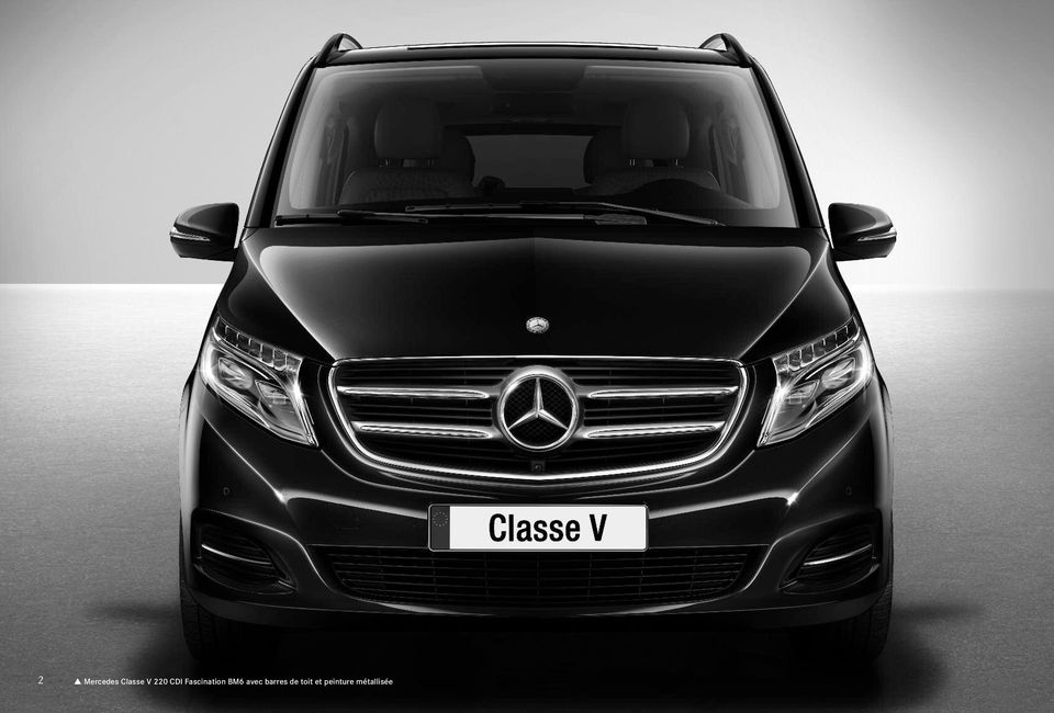 la nouvelle classe v tarif mercedes benz au 11 mars pdf. Black Bedroom Furniture Sets. Home Design Ideas