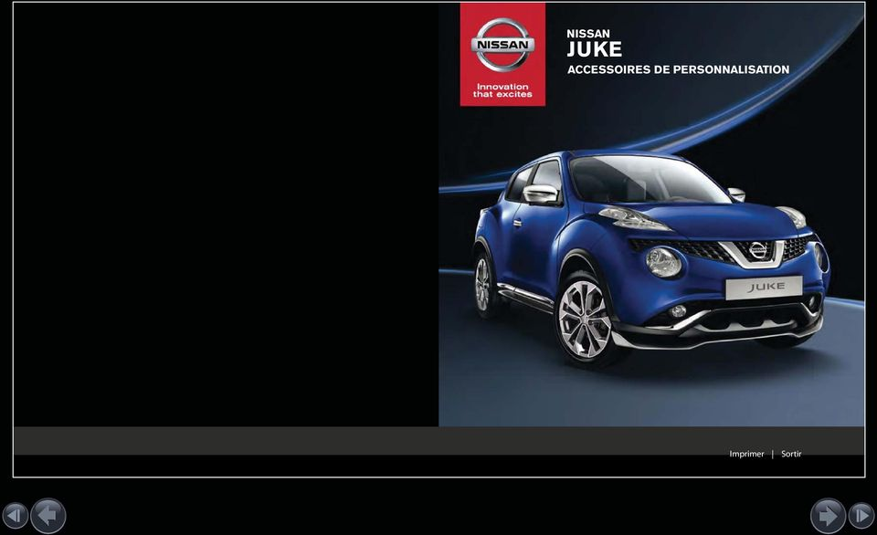 nissan juke accessoires de personnalisation pdf. Black Bedroom Furniture Sets. Home Design Ideas