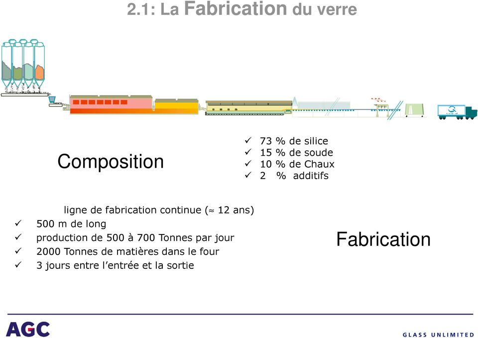 ans) 500 m de long production de 500 à 700 Tonnes par jour 2000