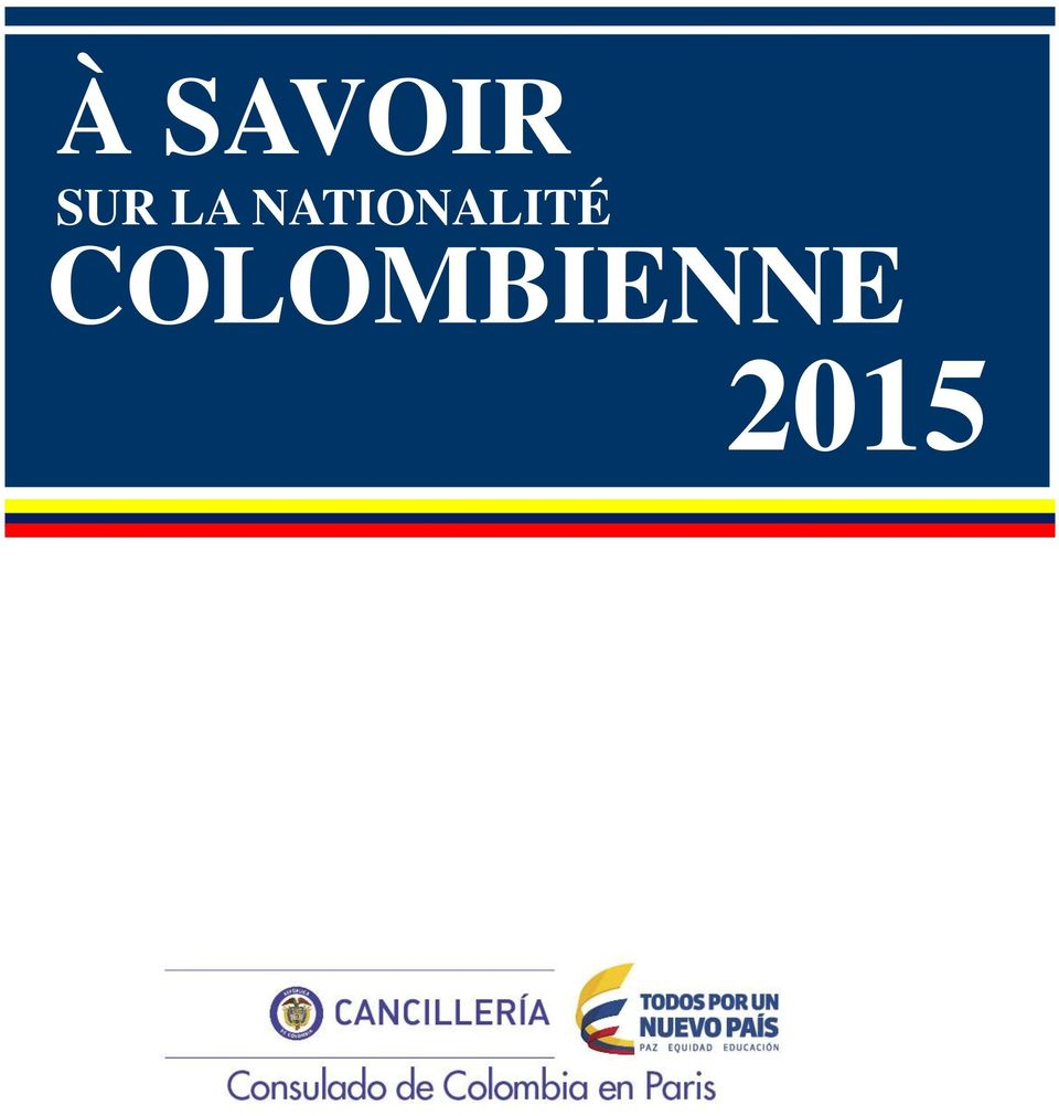 COLOMBIENNE 2015