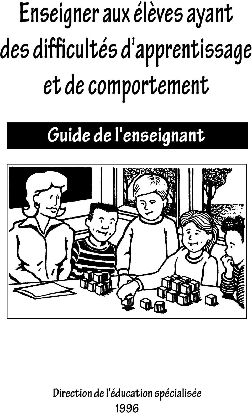 comportement Guide de l'enseignant