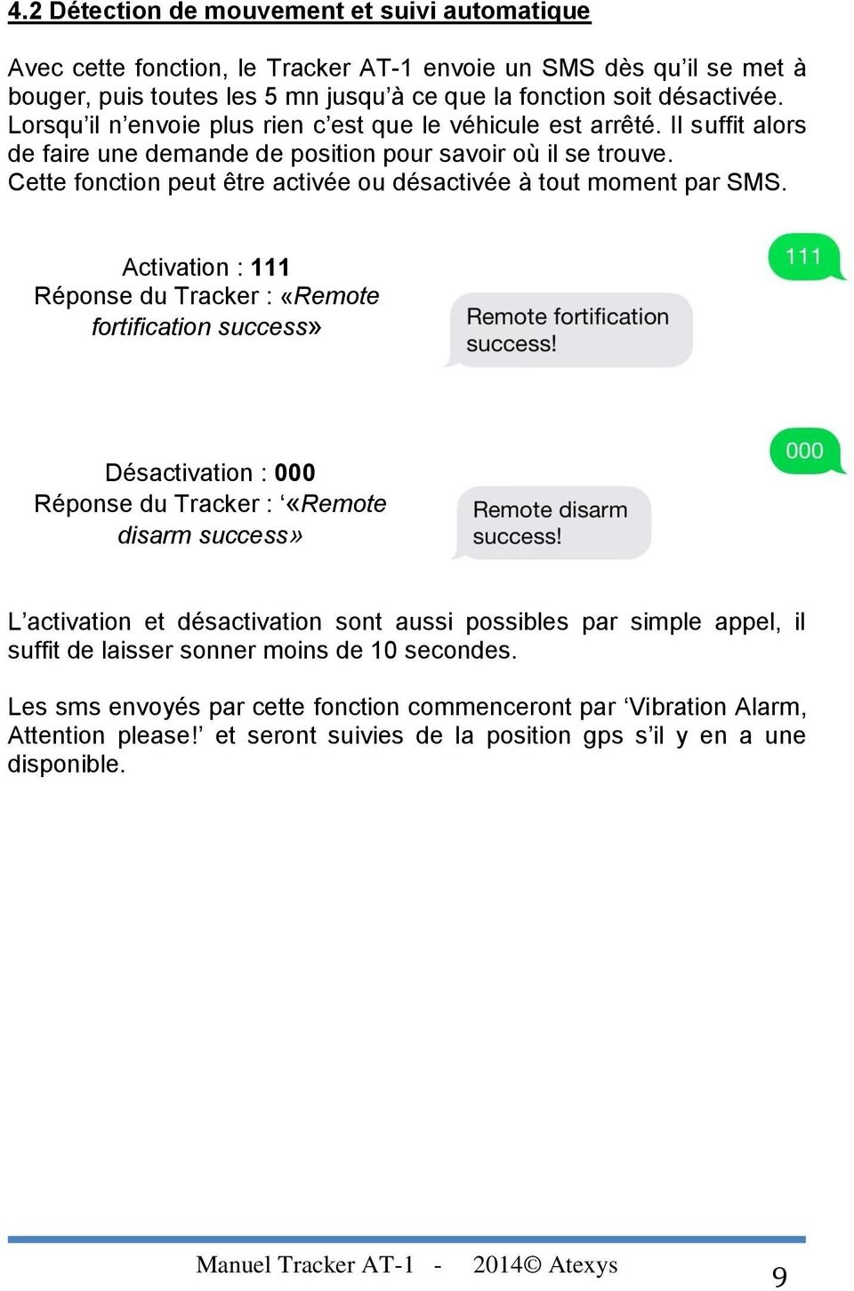 Tracker At 1 Notice D Utilisation Pdf