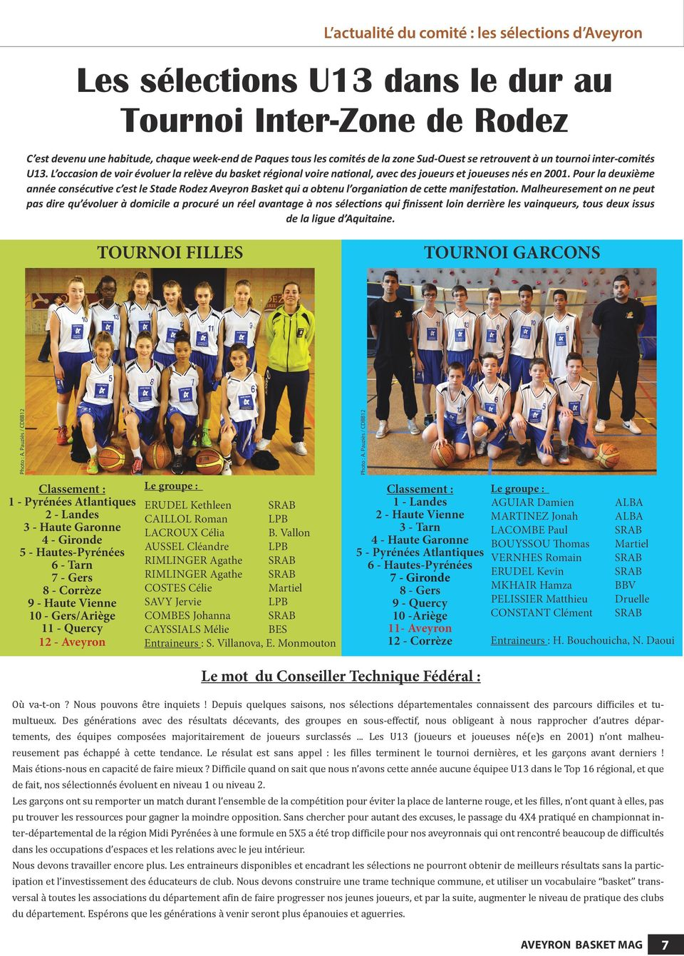 Mai 2014 aveyron basket mag la photo l asso du basket for Stade du miroir lacan pdf