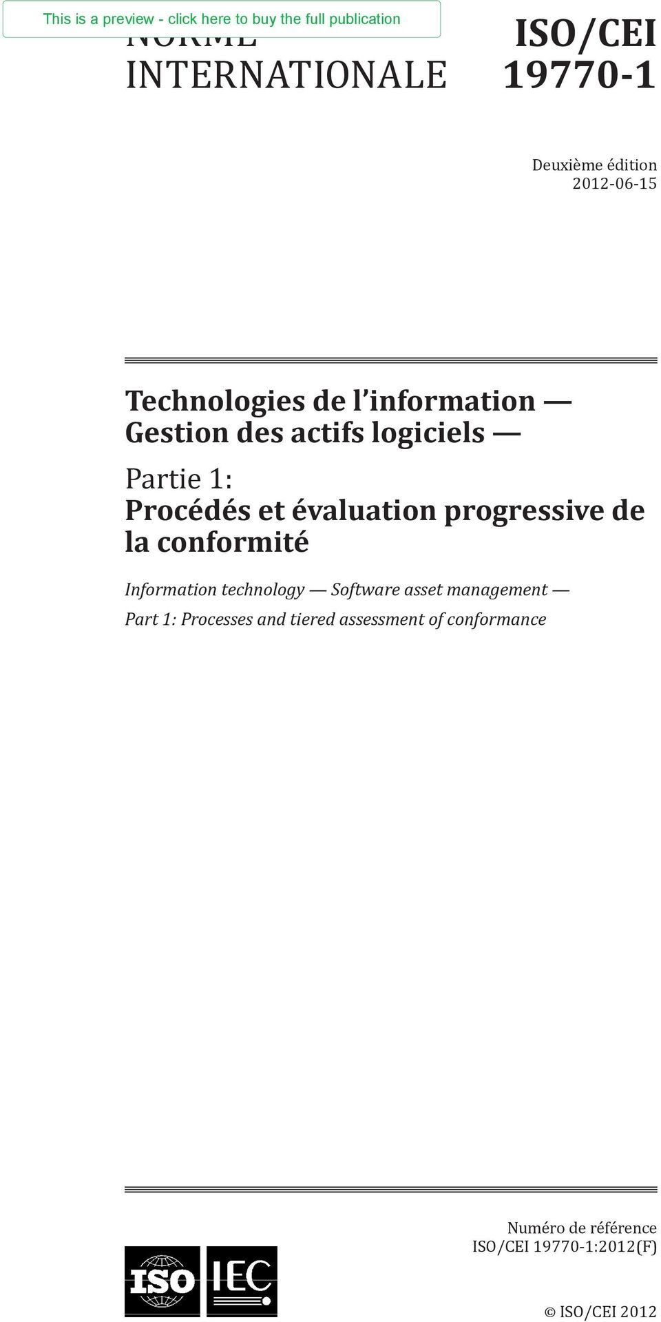 progressive de la conformité Information technology Software asset management