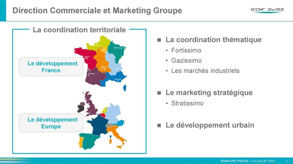 Fortissimo Gazissimo Les marchés industriels Le marketing