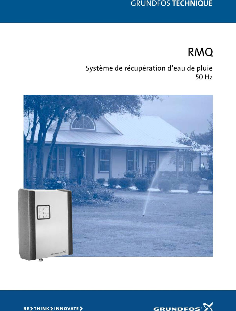 grundfos technique rmq syst me de r cup ration d eau de pluie 50 hz pdf. Black Bedroom Furniture Sets. Home Design Ideas