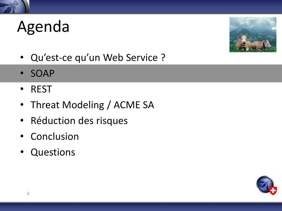 SOAP REST Threat Modeling /