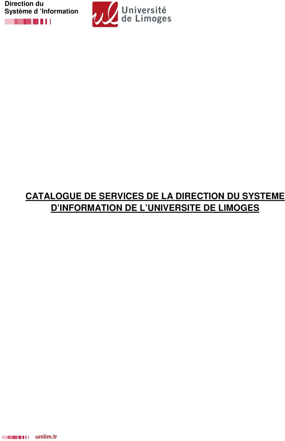 SYSTEME D INFORMATION