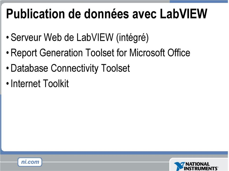 Generation Toolset for Microsoft Office