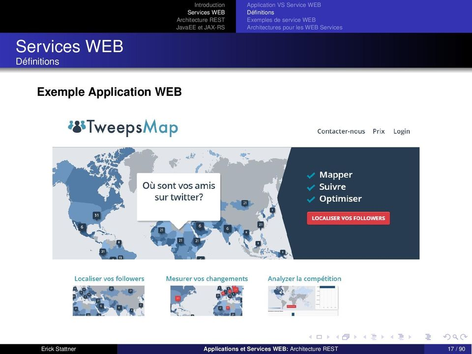 Exemple Application WEB