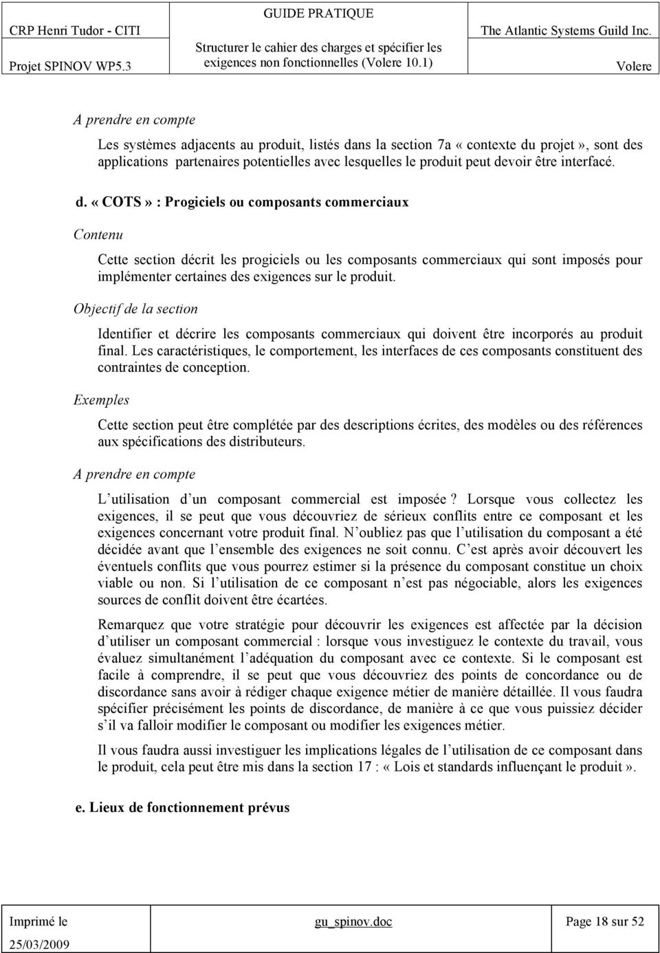 ns la section 7a «contexte du